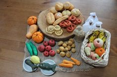 Salt dough breads and foods! Thought I pinned this before, great site