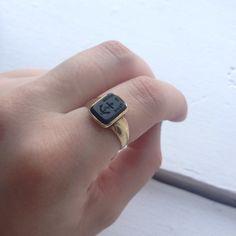 intaglio ring antique - Google Search
