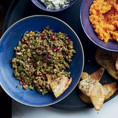 This chunky dip is a specialty in the Gilan province of Northern Iran. Chef Serge Madikians makes his version with pomegranate in two forms: seeds and molasses. Get the recipe.   - WomansDay.com