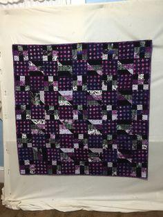 Pam's squares quilt