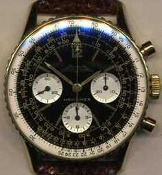 SUPERB & GF VINTAGE BREITLING AOPA 1964 TRANSITIONAL NAVITIMER 806