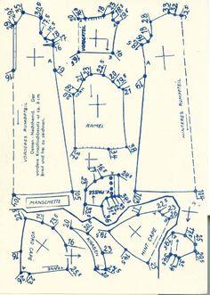 Lutterloh 1938 Book Of Cards -  Models Diagram Card 33