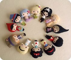fairy tale doll collection by Gingermelon, via Flickr