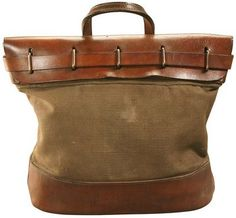 Mid-to-late 19th century Army mail bag.. wouldn't make a cool tote.