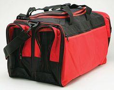 """Martial Arts Bag with Mesh, Boxing MMA Deluxe Equipment Bag,13""""x27""""x14"""" - http://www.exercisejoy.com/martial-arts-bag-with-mesh-boxing-mma-deluxe-equipment-bag13x27x14/martial-arts/"""