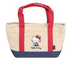 5a786cf4e6fd Hello Kitty Tote Bag  Basket Here Kitty Kitty