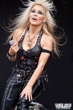 Doro, the metal queen. Hard Rock, Rock N Roll, Witcher Wallpaper, Ladies Of Metal, Heavy Metal Girl, Lita Ford, Rock Queen, Women Of Rock, Rocker Girl