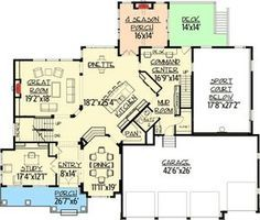 Dad's Dream Home Plan - 73340HS   2nd Floor Master Suite, Butler Walk-in Pantry, CAD Available, Craftsman, Den-Office-Library-Study, Exclusive, Loft, Luxury, MBR Sitting Area, Media-Game-Home Theater, Multi Stairs to 2nd Floor, Northwest, PDF, Photo Gallery, Premium Collection, Sport Court   Architectural Designs