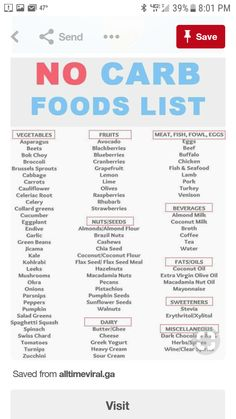 Loose weight with the best keto tips. We post the best keto tips, keto hacks, keto recipes. All the keto stuff that will help you loose weight in a month No Carb Food List, Diet Food List, Food Lists, Diet Foods, No Carb Foods, Zero Carb Meals, No Carb Snacks, High Fat Foods, Low Carb Fruit List