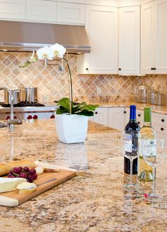 Solarius Granite Countertops - traditional - kitchen - boston - Jon Mancini