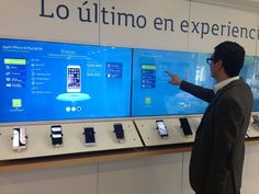 Zytronic creates interactive experience for Movistar - Retail Focus - Retail Interior Design and Visual Merchandising