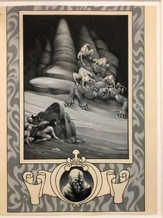 Stephen Fabian - Illustration for HP Lovecraft's  Dream Quest of Unknown Kadath  Comic Art