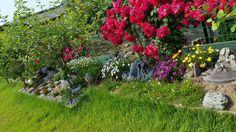 장미와 꽃 동산