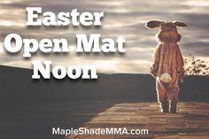 Easter Sunday Open Mat at Noon. #njma #teamnjma #brazilianjiujitsu #graciejiujitsu #mma #easter #easterbunny