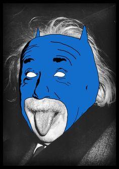 My hero, Albert feeling kind of blue..