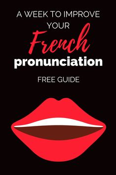 Did you know that you can work on your French pronunciation in English? Yep, totally possible! Imitate one of those actors and you'll be well on your way to improve your speaking French. Plus I've got plenty of tips and a FREE extra goodie for you. French Sentences, French Phrases, French Words, French Language Lessons, French Language Learning, French Lessons, Learning Spanish, Language Study, Learn French Fast