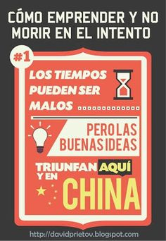 """""""Times could be tough, but good ideas sucesses everywhere"""" Quotes About Everything, Everything And Nothing, Spanish Class, Business Entrepreneur, Food For Thought, Wise Words, Internet Marketing, Leadership, Infographic"""