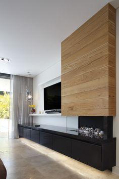 Capolavoro quartzite cabinet surface in living room