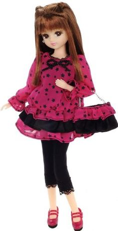 Licca Chan: LW-11 Licca Chan Star Fashionist Outfit (Doll is Not Included): Toys & Games