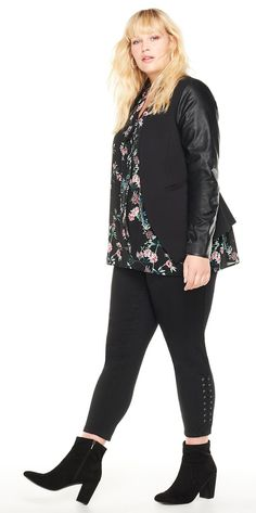 Plus Size Fall Outfit - Plus Size Fashion for Women