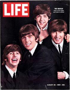 Vintage Beatles LIFE Magazine August 28 1964 - Vintage Beatles Magazine from the Les Beatles, John Lennon Beatles, Beatles Art, Beatles Photos, Pop Rock, Rock And Roll, Time Magazine, Magazine Covers, People Magazine
