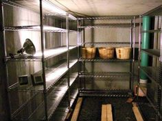 Inside Root Cellar
