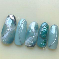 Japanese Nail Art, Summer, Design, Finger Nails, Summer Time