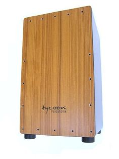 Tycoon Supremo Series Cajon by Tycoon. $120.85. Tycoon Percussion's Supremo Series Cajon features strong bass tones and sharp slaps. Standard size with tunable snare wires (Allen Wrench included) and protective rubber feet, this is the perfect entry-level cajon. Each cajon is individually tested to ensure optimum sound quality.  Today, Tycoon Percussion is well-established throughout the world as a leading manufacturer of percussion products, and is the only hand percussi...