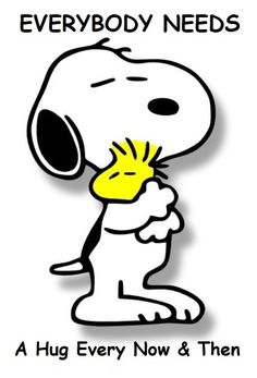 When was the last time you hugged someone?
