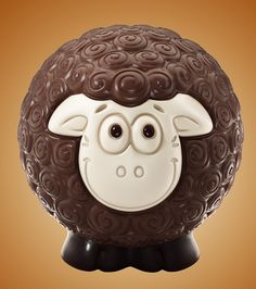 3D chocolate sheep v2 on Behance