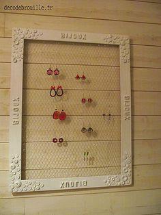 1000 Id Es Sur Le Th Me Porte Boucles D 39 Oreille Fait Maison Sur Pinterest Porte Boucles D