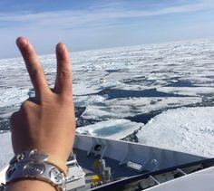 FLO23 op Spitsbergen Travel Around The World, Around The Worlds, Van, Instagram, Vans, Vans Outfit