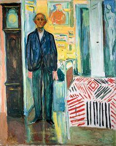 Edvard Munch - Self-portrait