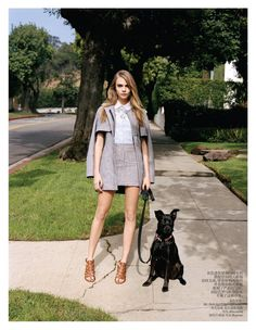 Cara Delevingne Sports Micro Style for Vogue China February 2013 by Angelo Pennetta
