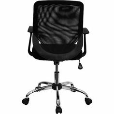 Flash Furniture Mid Back Mesh Managers Office Chair with Padded
