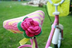 crochet bike seat cover - another one to try!