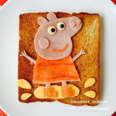 """519 Likes, 48 Comments - Candace Mama (@cancan_ku) on Instagram: """"Ham and cheese and crab roll toast to my little girl's breakfast. Saw so many artists used capsicum…"""""""