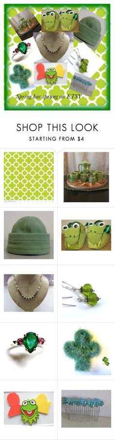 """Spring has sprung on Etsy"" by margaret-hesketh on Polyvore"