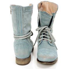 steve madden sky blue boots