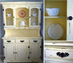 Bambella Cookie Boutique - Hutch Redo @Rhonda Anderson what about something like this for my hutch?