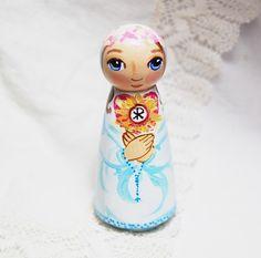 Blessed Imelda Catholic Saint Doll Toy - Made to Order