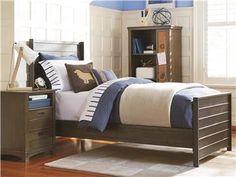 smartstuff | Varsity | Panel Bed (Twin) | 5351036