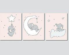 nursery elephant wall art - Поиск в Google