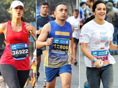 It was not an ordinary Sunday. Mumbai saw people stepping out in large numbers as early as 6 AM to run the annual grand run - the Standard Chartered Mumbai Marathon 2014. And it wasn't restricted to the athletes only. Like every year, the event saw people from showbiz and corporate honchos alike. Check out who all we spotted at the Mumbai Marathon 2014 here.Image courtesy: AP, BCCLAlso Read: 10 Most Charitable Bollywood Celebrities