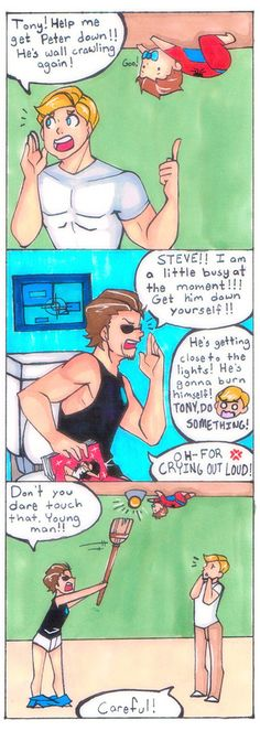 I should draw more stony before civil war breaks them up... QmQ  #comic…