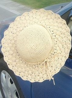 ergahandmade: Crochet Sun Hat + Diagrams