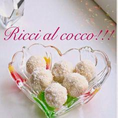 Il regno delle dolcezze: Ricci al Cocco!