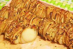 Kartofler på stribe - en anderledes måde at servere kartofler på.