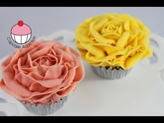 Make Vintage Rose Cupcakes Using Buttercream
