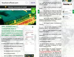 """""""Kenntnisse in Word, PowerPoint und Excel erwünscht""""… Kamerun sucht Trainer für Fußball-Nationalmannschaft per Stellenannonce"""